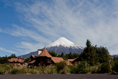 Osorno Volcano in Chile Stock Photography