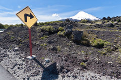 Osorno Volcano in Chile Stock Photos