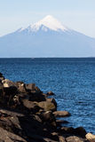Osorno Volcano in Chile Royalty Free Stock Photography