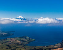 Osorno Volcano in Chile Stock Image