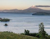 Osorno Volcano in Chile Stock Images