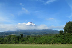 Osorno Volcano in Chile royalty free stock image