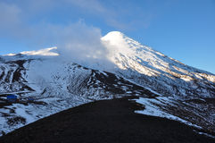 Osorno Volcano near the top, Chile Stock Photo