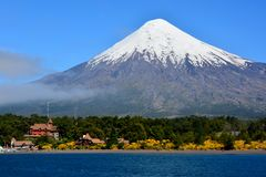 Osorno Volcano royalty free stock photography