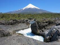 Osorno vulcan, chile Royalty Free Stock Photo