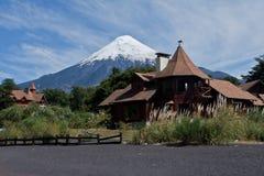 Osorno Vulkan in Chile stockfotografie