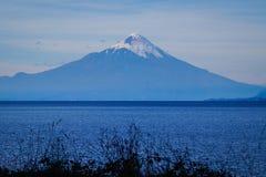Osorno wulkan chile puerto varas obraz royalty free
