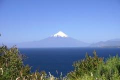 osornovulcano royaltyfria bilder