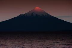 Osornovulkaan Royalty-vrije Stock Fotografie