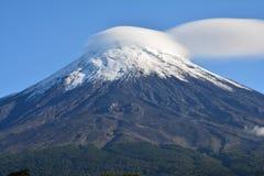 Osornovulkaan in Pucon, Chili royalty-vrije stock foto's