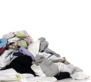 osorterat tvätteri Arkivbilder