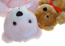 Osos adorables del peluche Imagen de archivo libre de regalías