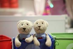 Osos de la marioneta Imágenes de archivo libres de regalías