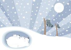 Osos de Navidad Imagen de archivo libre de regalías