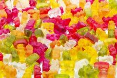 Osos gomosos coloridos fotografía de archivo
