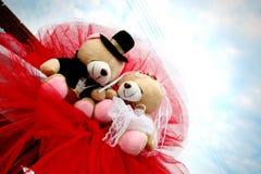 Osos Wedding imágenes de archivo libres de regalías