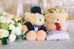 Osos Wedding Fotografía de archivo libre de regalías
