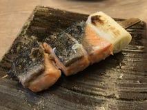 Łososiowy grill zdjęcia stock