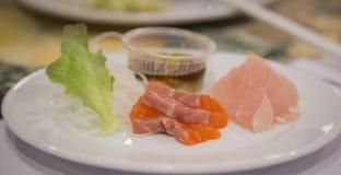 Łososiowy Sashimi Zdjęcie Royalty Free