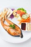 Łososiowy stek Obrazy Royalty Free