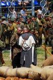 Osovets battle reenactment Stock Photography