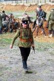 Osovets battle reenactment Royalty Free Stock Image