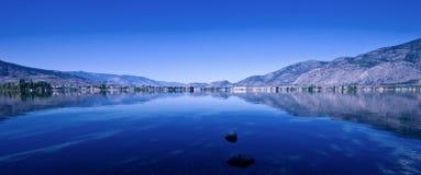 湖osoyoos 库存照片