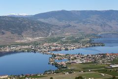 Osoyoos, British Columbia, Canada Royalty Free Stock Photo
