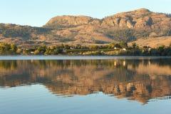 osoyoos jutrzenkowy jeziorny okanagan odbicie Zdjęcie Royalty Free