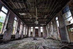 Ospedale abbandonato Fotografie Stock