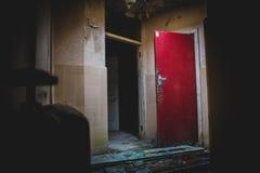 Ospedale abbandonato trascurato fotografie stock
