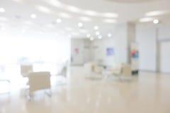 Ospedale astratto della sfuocatura fotografia stock libera da diritti