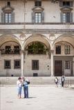 Ospedale-degli Innocenti Florenz Stockbilder