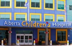 Ospedale dei bambini dell'Alberta Fotografia Stock Libera da Diritti