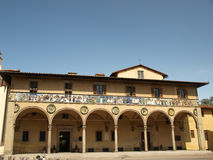 The Ospedale del Ceppo - Pistoia Italy Royalty Free Stock Photo