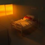 ospedale del cuore 3d Fotografia Stock Libera da Diritti