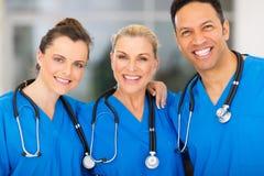 Ospedale del gruppo di medici fotografia stock libera da diritti