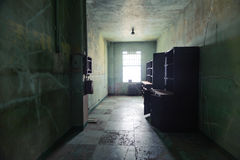 Ospedale di Alcatraz Fotografie Stock