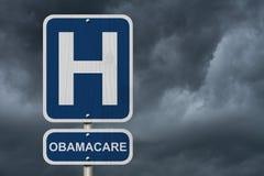 Ospedale e Obamacare Fotografia Stock