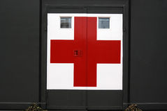 Ospedale militare nell'accampamento Immagine Stock Libera da Diritti
