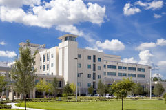 Ospedale moderno Fotografia Stock Libera da Diritti