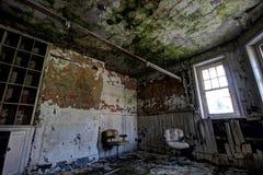 Ospedale psichiatrico abbandonato Fotografia Stock