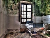 Ospedale psichiatrico abbandonato Fotografie Stock Libere da Diritti