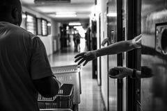 Ospedale psichiatrico criminale immagini stock libere da diritti