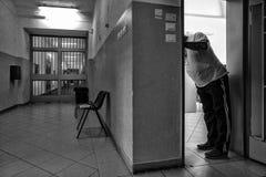 Ospedale psichiatrico criminale Fotografie Stock Libere da Diritti