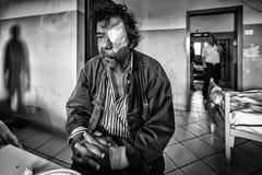Ospedale psichiatrico criminale Fotografia Stock Libera da Diritti