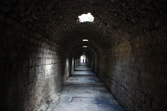 Ospedale psichiatrico mentale in rovine di Pergamon Immagini Stock