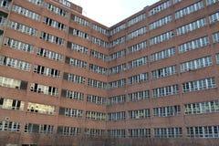 Ospedale psichiatrico regionale abbandonato di Northville Fotografie Stock Libere da Diritti
