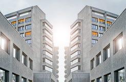 Ospedale urbano a Berlino Fotografia Stock Libera da Diritti