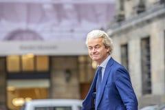 Ospiti alla ricezione dei nuovi anni dal re Of The Netherlands Geert Wilders 2019 immagine stock libera da diritti